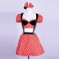 Costumes de Cosplay / Costume de Soirée Déguisements Thème Film/TV Fête / Célébration Déguisement Halloween Rouge MosaïqueHaut / Jupe /