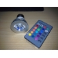 E26/E27 3 W 1 High Power LED 150 LM RGB/Color-Changing PAR Remote-Controlled Spot Lights AC 100-240 V