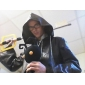 Inspiré par Kingdom Hearts Cosplay Vidéo Jeu Costumes de cosplay Costumes Cosplay Couleur Pleine Noir Cape