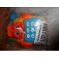 pedagogisk leksak telefon med hjul leksaker för barn (röd)