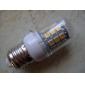 4W E26/E27 LED-lampa T 30 SMD 5050 360 lm Varmvit AC 110-130 / AC 220-240 V