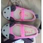 FETE - Pantofi Flați ( Verde/Oranj/Coral ) - Vârf Închis