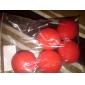 accessoires de magie - balles éponges rouges (5 pièces)