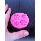 mucegai de copt DIY stil de crizantema 3d cookie biscuit (culoare aleatorii)
