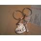Aliaj Zinc Favoruri Keychain Piece / Set Brelocuri Temă Clasică Nepersonalizat Argintiu
