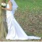 Lanting Bride® Fourreau / Colonne Petites Tailles / Grandes Tailles Robe de Mariage - Chic & Moderne / Elégant & Luxueux Dos ouvert