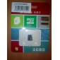 8Go Class 6 MicroSD/MicroSDHC/MicroSDXC/TFMax Read Speed30 (MB/S)Max Write Speed8 (MB/S)