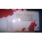 nya ankomst långa spik tips fullständiga finger transparenta konstnagel klistermärken dekaler rhinestone