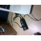 Mini UB-hubb 2.0 med fyra portar och 60 cm kabel (vart)