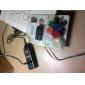 flerfärgade nylonfästtejpkabelhantering arrangör (6-pack)