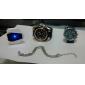 Bărbați Ceas de Mână Ceas digital Piloane de Menținut Carnea LED LCD Calendar Cronograf alarmă Silicon Bandă Alb Alb