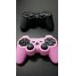 étui en silicone de protection pour Manette PS3 (rose)