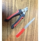 Trimnings verktyg Nagelklippare Metall / Plast Röd