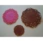 (3PC/SET) Antiskid Heat-resistant Silicone Cup Bowl Pan MATS 4
