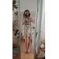 sifon print floral rochie mini pentru femei