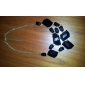Neregulate în formă de acril aliaj colier
