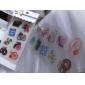 pvc stickers décoratifs (70 pcs couleur aléatoire)