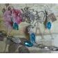 Weimei kvinnors temperament rhinestone kristall elegans mode halsband örhängen kostymer