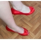 Satin Stiletto Heel Peep Toe Party / Evening Shoes (More Colors)