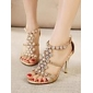 Women's Shoes Shimandi Ankle Strap Stiletto Heel Rhinestone Sandals Shoes