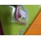 Sequined läderhalsband med Bell For Pets (Assorted Color)