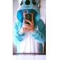 Kigurumi Pyjamas nya Cosplay® / Koala Leotard/Onesie Halloween Animal Sovplagg Blå Lappverk Polar Fleece Kigurumi UnisexHalloween / Jul /