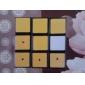 Cube de vitesse lisse 3*3*3 Cubes magiques Noir Plastique