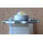 Epistar 3200-3500K 3W 170-190lm 700mAh varmvit LED lampa med aluminiumplåt (3,4-3.8V)