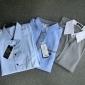 A bărbaților Cămașă Bumbac / Poliester Pur Muncă / Mărime Mare Manșon Lung Negru / Albastru / Alb / Gri