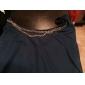 Dulci femei gât solid Culoare Bodycon Dress
