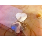 dora mode avslappnad silvering hjärt earings