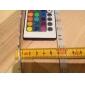 vattentät 5m 150x5050 smd RGB LED lysrör och 24nyckel fjärrkontroll och 3a eu strömförsörjning (Växelström 110-240 V)