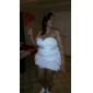 AMBICA - שמלת ערב מ- אורגנזה ו- סאטן