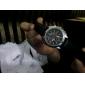 Bărbați Ceas de Mână Quartz PU Bandă Negru Maro Alb Negru