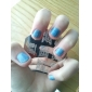 nail art estampage l'image timbre plaque modèle série d no.14