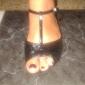 Chaussures de danse(Noir Rouge Or Fuchsia Autre) -Non Personnalisables-Talon Bas-Paillette Brillante-Latine Salon