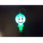 Eclairage Lampes de poche Porte-clés Style Dessin Animé Usage quotidien Plastique