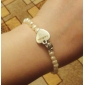 Bijoux personnalisés-blanc-Bracelets- enClassique