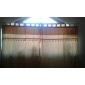 (Two Panels) Classic Jacquard Botanical Energy Saving Curtain