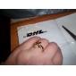 Recipient femei aur 18K Circone Ring (J1574)