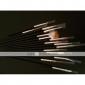 15st svarta nail art design måla ritning penna pensel inställd trähandtag akryl pensel