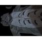 Kigurumi Pyjamas Katt / Totoro Leotard/Onesie Halloween Animal Sovplagg Vit / Grå Lappverk Korallfleece Kigurumi Unisex Halloween