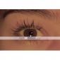 Svart vattentät 3D-mascara med ögonfransförlängande effekt (2 st, transplanterande gel och fibrer)