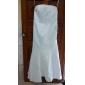 Robe de Demoiselle d'Honneur - Couleur Rubis/Bleu royal/Marron/Champagne/Indigo Sirène Sans bretelles Longueur ras du sol SatinGrandes