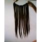 20 cm 50g de longue agrafe droite synthétique dans les extensions de cheveux avec 5 clips - 12 couleurs disponibles
