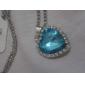 Elégant Coeur Miss U de femmes collier en cristal