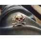 cuivre crâne de pneu de voiture de luxe vannes bouchon de décoration (4 pièces par paquet)