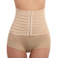 Cotton And Chinlon Front Bust Closure Waist Chincer Sexy Lingerie Shaper