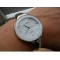pentru Doamne Ceas La Modă Ceas Casual Ceas de Mână Ceas Brățară Quartz imitație de diamant Aliaj Bandă Brățară rigidă Elegant ArgintAlb