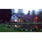 8 pcs, Led jardin, pelouse, éclairage / jardin lampe solaire solaire en plastique, lumineuse LED (CIS-57136)